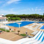 Cypsela Resort aan Costa Brava zwembaden en glijbanen