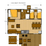 Plattegrond Luxury Lodge 40 5-6p
