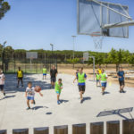 Speelveld op Cypsela Resort camping in Spanje
