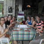 Wijnproeverij op Camping de Coucouzac in de Ardeche
