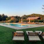 L'Antica Fornace met zwembad en safaritent op de achtergrond