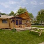 Lodge op Vakantiepark De Pier