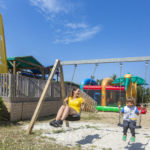 Speeltuin bij Soulac Plage