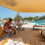 Relaxen bij zwembaden van Soulac Plage