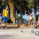 Soulac Plage: Jeu de boule