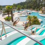 Glijbaan en zwembaden Soulac Plage