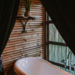 De Koningslodge met bad