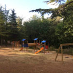 Speeltuin bij camping Pian di Boccio