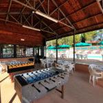 Tafelspelletjes op camping Pian di Boccio