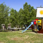 Speeltuin en tafeltennis op camping Free Time