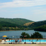 Zwembad van camping Lac du Causse