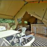 Eco Lodge Bergerac, overdekt terras