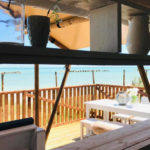 Villa Alwin Beach Resort uitzicht vanaf bar