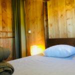 Coucouzac, 2 persoons slaapkamer safaritent 4 personen