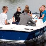 elektrosloep watersportcamping Heeg