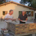 camping les franquettes gemeenschappelijke barbecue plaats