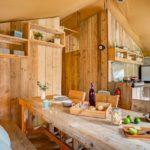 Keuken 1 lodgetent - Les Deux Fontaines