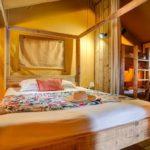 Slaapkamer lodgetent - Les Deux Fontaines